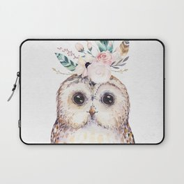 Forest Owl by Nature Magick Laptop Sleeve