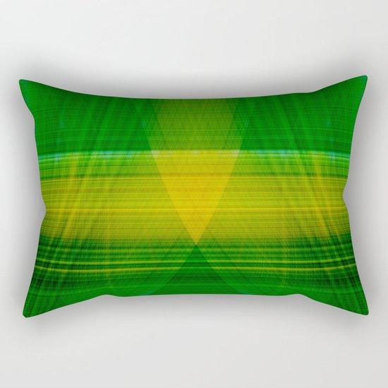 green hope Rectangular Pillow