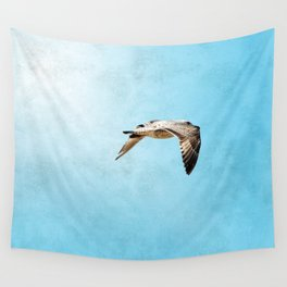 Bird in flight ;Into the Mystic Wall Tapestry