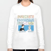 500 days of summer Long Sleeve T-shirts featuring 500 Days of Sumner by StellaDays