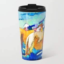 Florence Oregon - Dog Walker Travel Mug