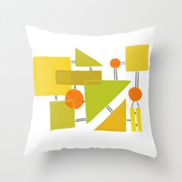 The 70s Throw Pillow