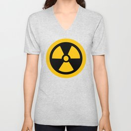 Yellow Radioactive Unisex V-Neck