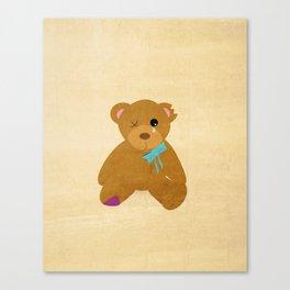 Abandoned Toys   Teddy Canvas Print