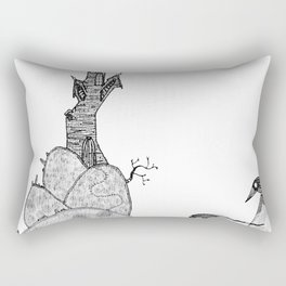 From the Castle Rectangular Pillow