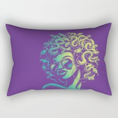 Funky Medusa Rectangular Pillow