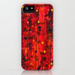 Untitled (Red) iPhone Case