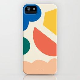 Floating lands iPhone Case