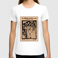 literature T-shirts featuring A Clash of King as Cordel Literature by mnlls