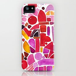 We are loved. Reaching out iPhone Case
