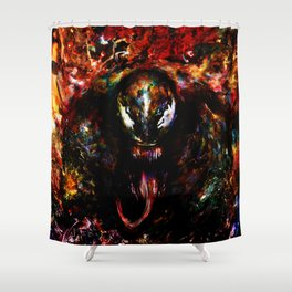 venom Shower Curtain