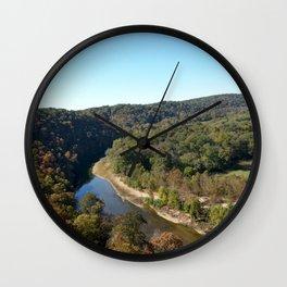 Sparrowhawk Mountain Series, No. 16 Wall Clock