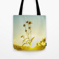 Sunlit Flowers  Tote Bag
