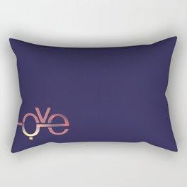 Love in English and Arabic Rectangular Pillow