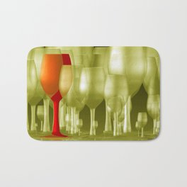 the party is over -b- Bath Mat