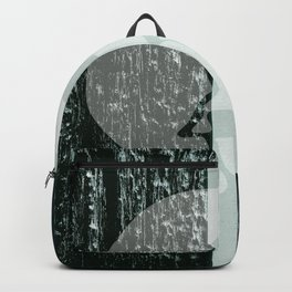 burning skull Backpack