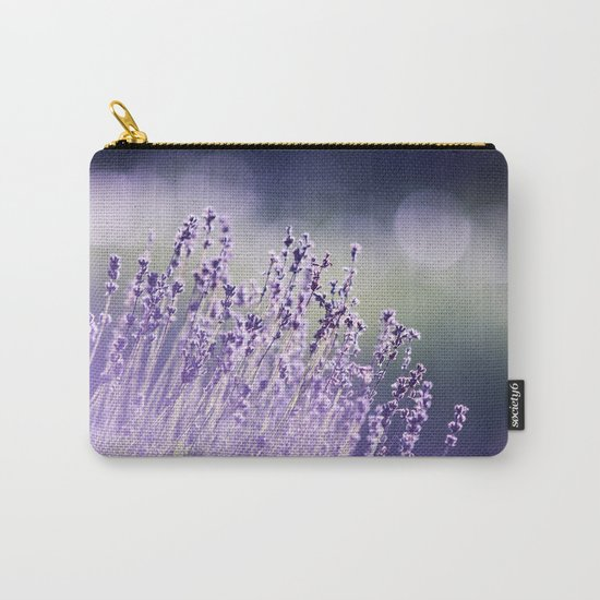 Spring Purple I Carry-All Pouch
