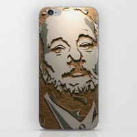 murray iPhone & iPod Skins featuring Murray by Blake Byers