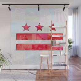 DC Scenes Flag Wall Mural
