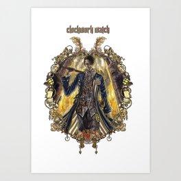 Clockwork Watch: Breakaway Art Print
