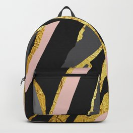 Gold and pale river Backpack