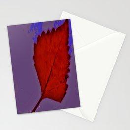 BE LIKE A LEAF #6 Stationery Cards