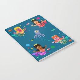 Mermaid Sisters Notebook