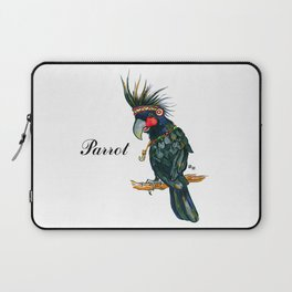 Chief Black parrot Laptop Sleeve