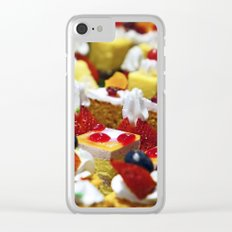 cakes Clear iPhone Case