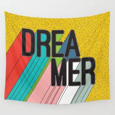 Dreamer Typography Color Poste...