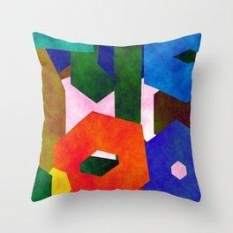 Retro Artistic Pattern Throw Pillow