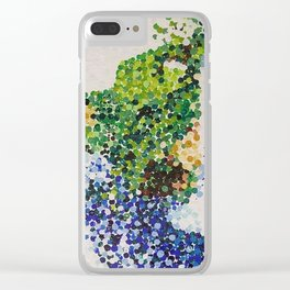 Waterfall At a Distance Clear iPhone Case