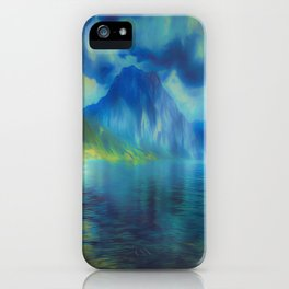 The Mystical Lake iPhone Case