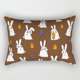 Rabbit field Rectangular Pillow