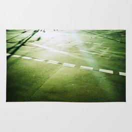 road paintings (cross kreuzung) Rug