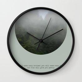 yrsa daley-ward Wall Clock