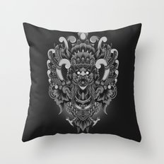Majestic Garuda Throw Pillow
