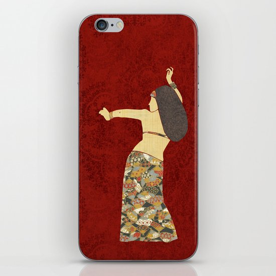 Belly dancer 12 iPhone & iPod Skin