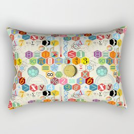 Math in color (little) Rectangular Pillow