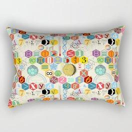 Math in color (little) Rectangular Pillow