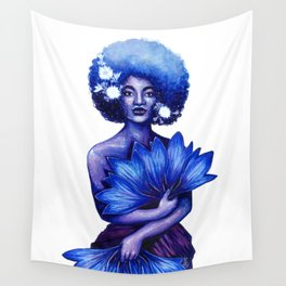 Cornflower Wall Tapestry