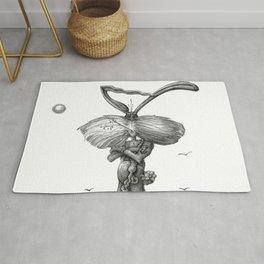 Ed Jack Rabbit Rug