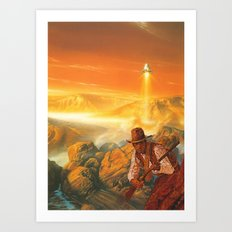 The Wild West Guide To The Galaxy # 180 Art Print