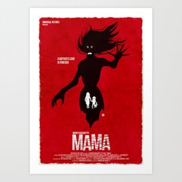 Mama (Red Collection) Art Print