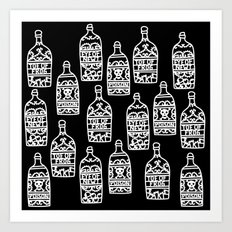 Time for a brew? Potions Art Print