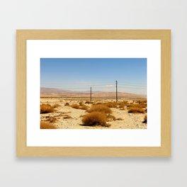 Road Less Traveled 002 Framed Art Print