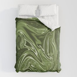Curvaceous 4 ......flowing liquid color....original art Comforters