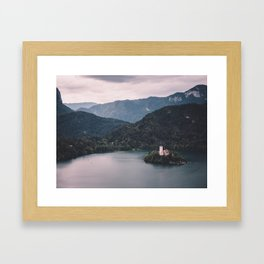 Lake Bled, Slovenia, 4 Framed Art Print