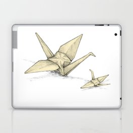 Paper Cranes Laptop & iPad Skin