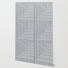 Fuzz Outline Grey Wallpaper